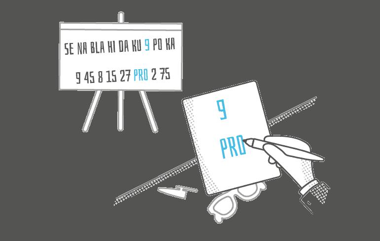 Pamatujeme si první slabiku mezi čísly a první číslo mezi slabikami