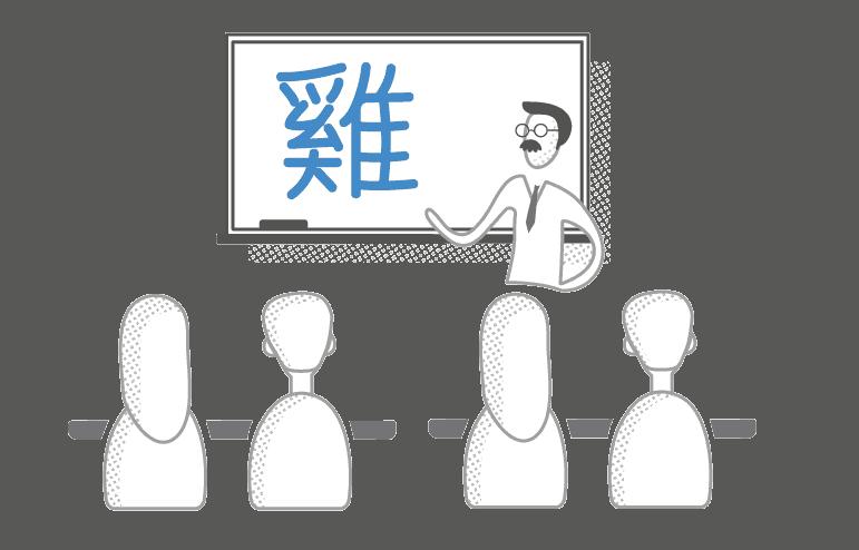 Čínské znaky, které lidé viděli častěji, považovali za pozitivnější